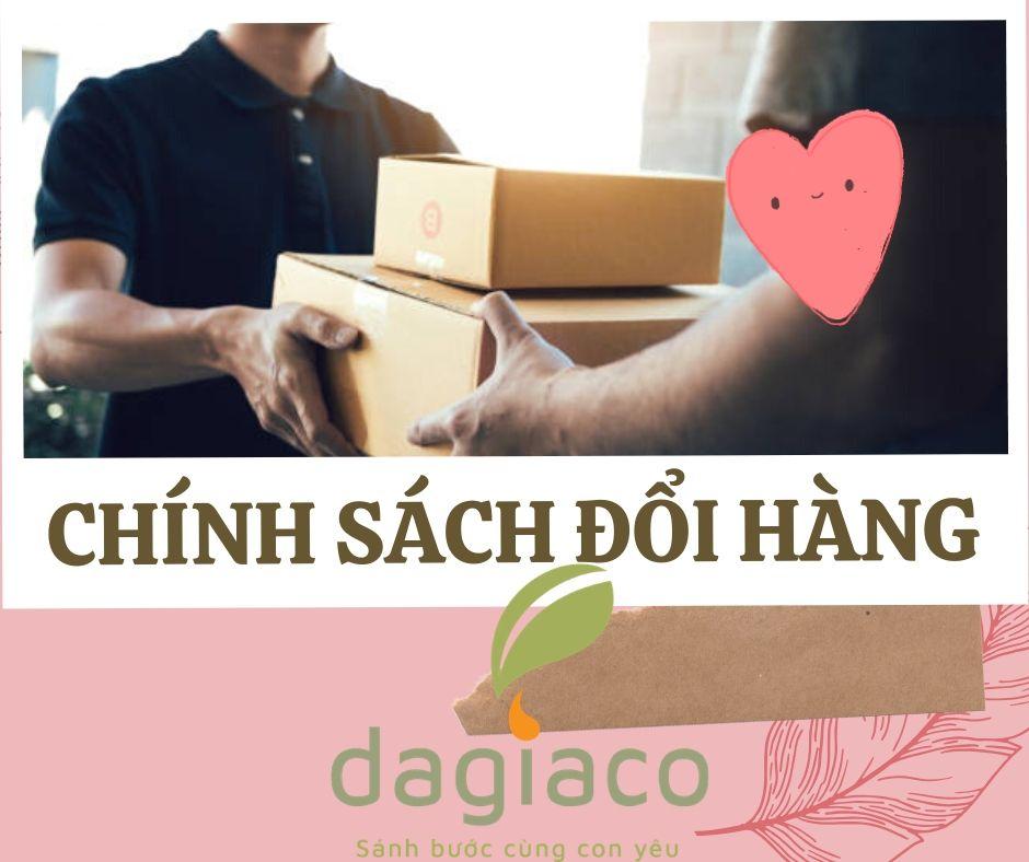 Chính sách đổi hàng công ty Dagiaco